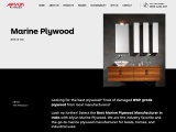 Marine plywood manufacturer in india