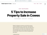 How to Increase Property Sales in Cowes