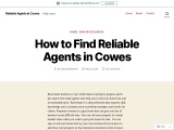 How to Find Reliable Agents in Cowes