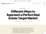 Different Ways to Approach a Perfect Real Estate Target Market