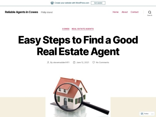 Easy Steps to Find a Good Real Estate Agent