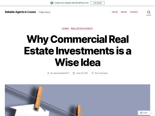 Why Commercial Real Estate Investments is a Wise Idea