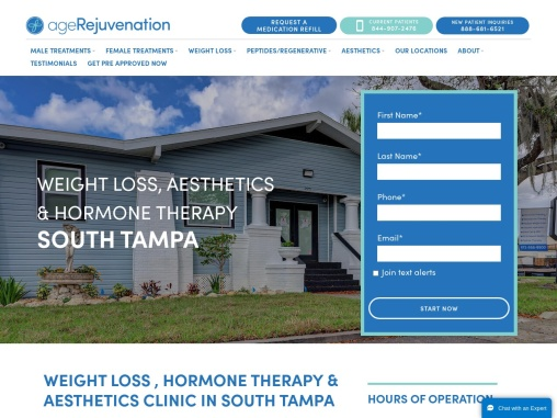 South Tampa Weight Loss Clinic – AgeRejuvenation