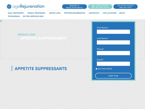 Tampa Appetite Suppressants | Weight Loss | AgeRejuvenation