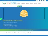 Advanced Certified Scrum Master Online Training