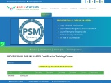 PSM 1- Professional Scrum Master Certification Online Training