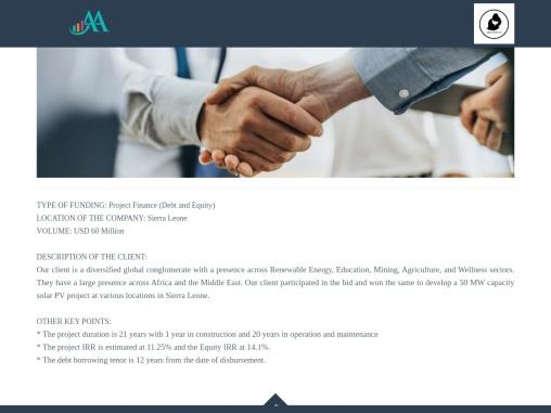 Debt vs Equity Finance Advisors in Sierra Leone- Agilis Advisor Gmbh