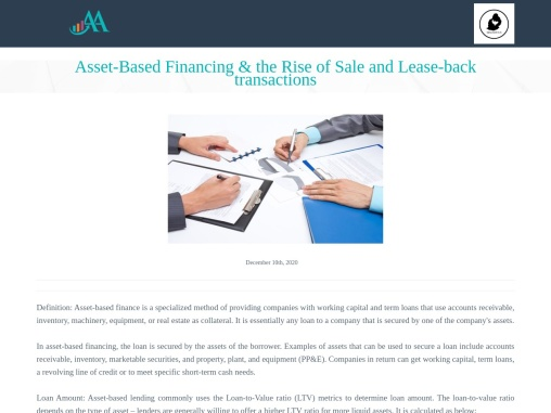 Asset-Based Financing & the Rise of Sale and Lease-back transactions in Germany