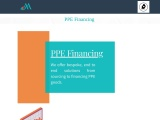 PPE financing solutions in Europe | Traditional PPE inventory finance in Europe