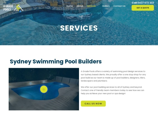 Swimming Pool Builders Northern Beaches