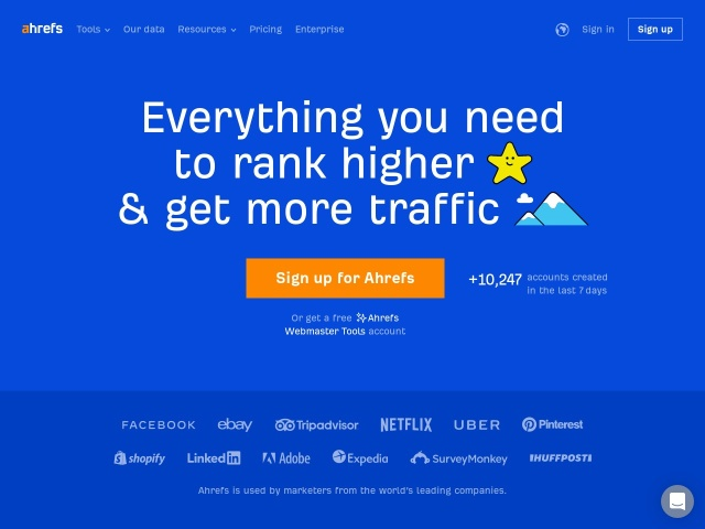 Ahrefs: Competitor Research Tools & SEO Backlink Checker