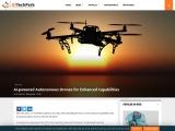 AI-powered Autonomous Drones for Enhanced Capabilities
