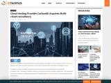Cloud Hosting Provider Carbon60 Acquires Multi-cloud Consultancy