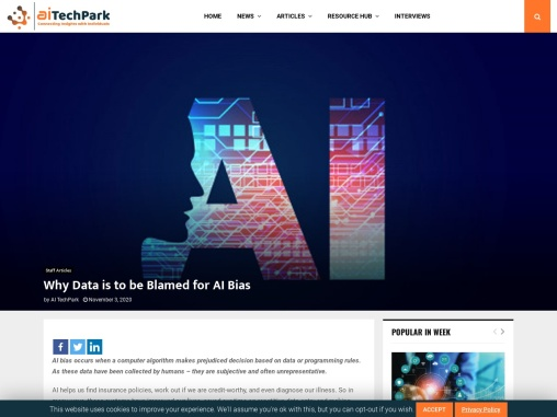 Why Data is to be Blamed for AI Bias