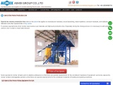 special-dry-mortar-production-line