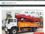 Concrete Boom Pump For Sale Pakistan – For Long-Distance Concrete Pumping
