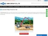 Aimix concrete-pump-truck-for-sale