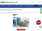 Aimix cement-block-machine for sale