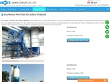 dry-mortar-mix-plant-for-sale-in-thailand