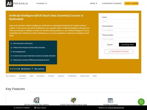 AI Patasala – AI Training in Hyderabad