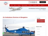 Air Ambulance Services in Bengaluru at Low Cost