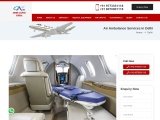 Low Cost Air Ambulance Services in Delhi