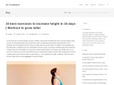 10 best exercises to increase height in 15 days | Workout to grow taller