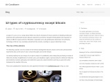 12 types of cryptocurrency except bitcoin