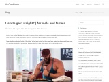 How to gain weight? | for male and female