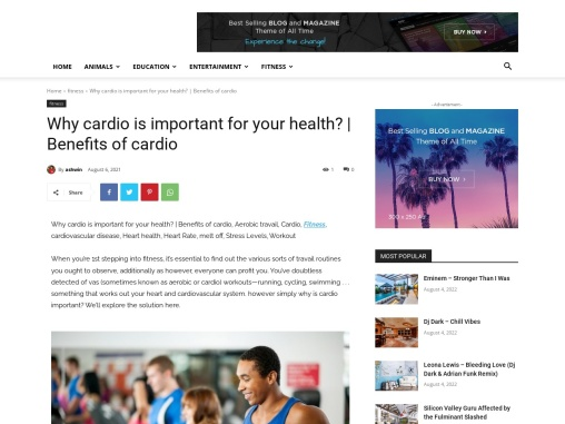 Why cardio is important for your health?   Benefits of cardio