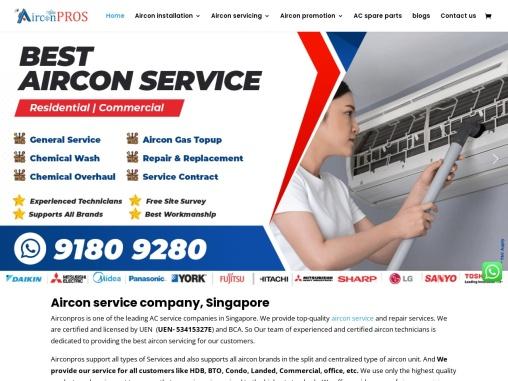 Aircon servicing company – Airconpros