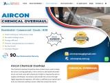 Aircon chemical overhaul – Airconpros