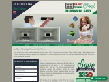 Air Duct Cleaning Missouri City TX