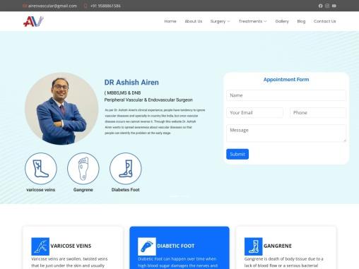 Best Vascular Surgeon in Jaipur   Best Vascular treatment in Jaipur – Airen Vascular