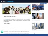 Know everything about Delta Pet Policy
