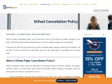 Want to know about Etihad Flight Cancellation?