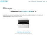 Brother DCP 1616NW Setup – Instructions   Driver   Troubleshoot