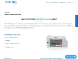 Brother Dcp J1100DW setup – Instructions   Driver   Troubleshoot