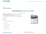 Brother DCP L3550CDW Setup – Instructions   Driver   Troubleshoot