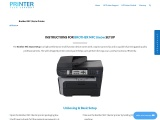 Brother MFC 7840W setup – Instructions | Driver | Troubleshoot
