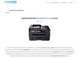 Brother MFC J6710DW setup – Instructions   Driver   Troubleshoot