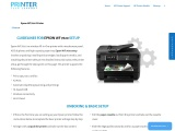Epson WF 7620 Setup – Guidelines   Driver Download   Troubleshoot