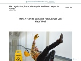 How A Florida Slip And Fall Lawyer Can Help You?