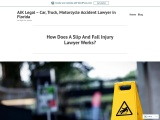 How Does A Slip And Fall Injury Lawyer Works?