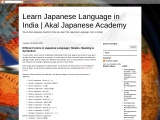 Learn Japanese Language | Akal Japanese Academy