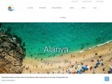 Alanya an der türkischen Riviera