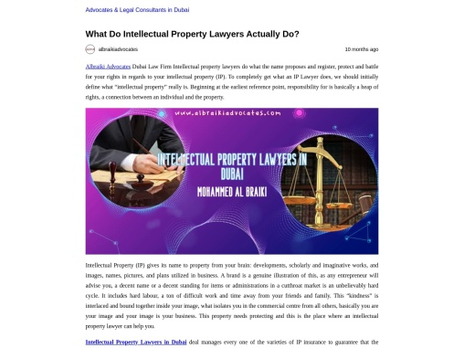 What Do Intellectual Property Lawyers Actually Do?