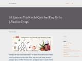 10 Reasons You Should Quit Smoking Today | Alcoban Drops