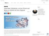 Manfaat Website untuk Bisnis UMKM