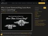 2 carat diamond engagement ring cost